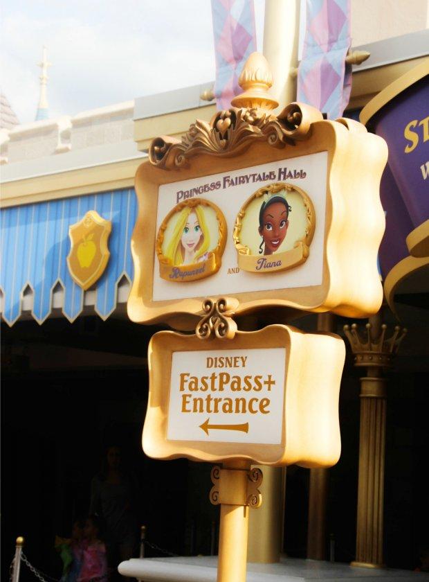 Princess sightings at Magic Kingdom