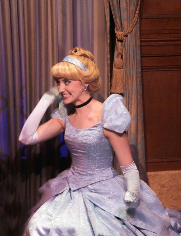 Princesses in Magic Kingdom