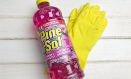 A Lazy Mom's Spring Cleaning Guide Printable with Pine-Sol Spring Blossom