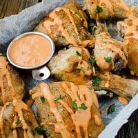 Buffalo Ranch Baked Chicken