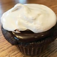 Double Chocolate Marshmallow Gluten Free Cupcakes