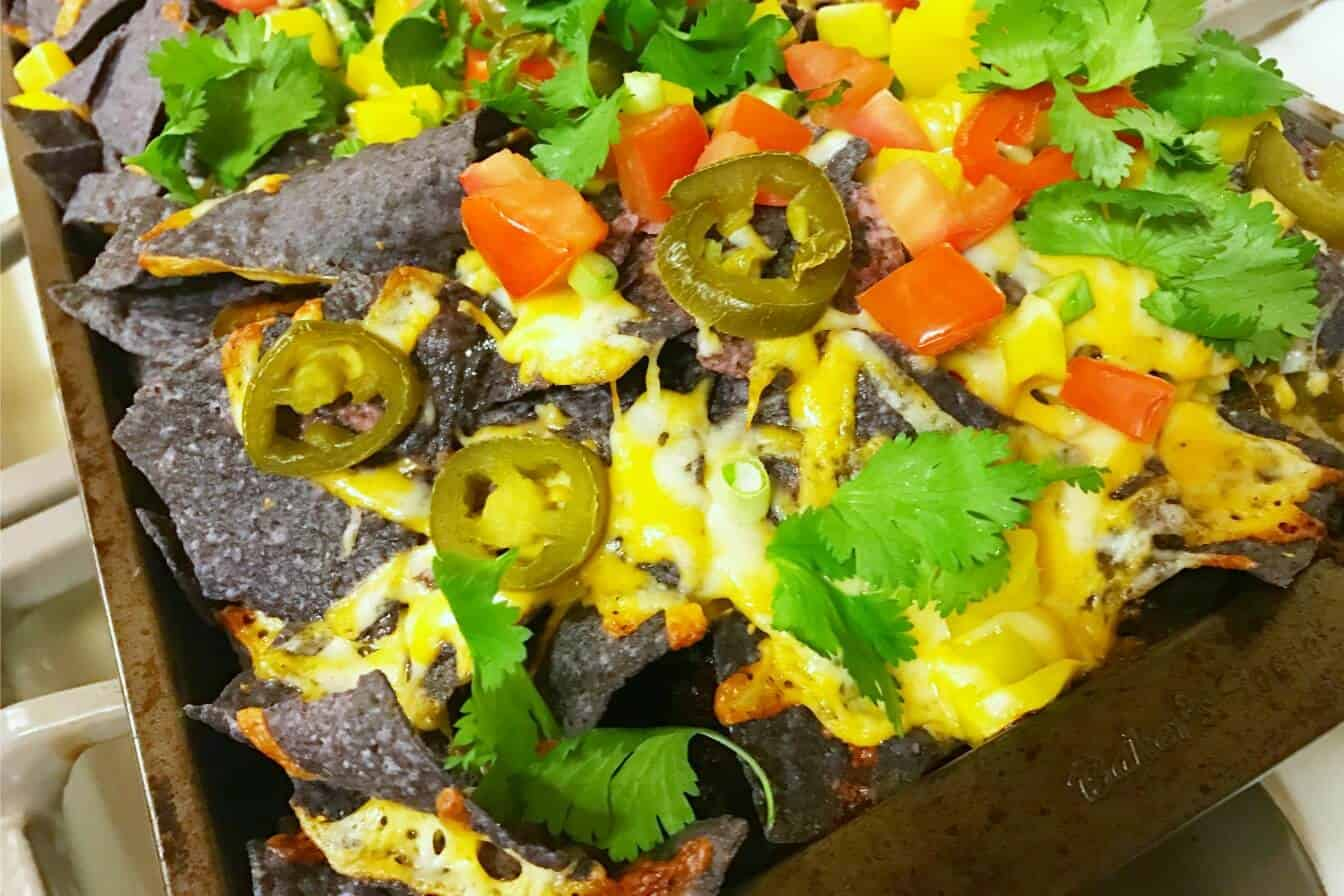 Lactose-Free Nachos are delicious