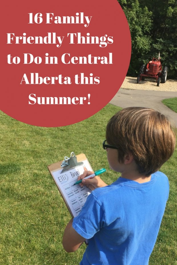 16 Family Friendly Things to Do This Summer in Central Alberta