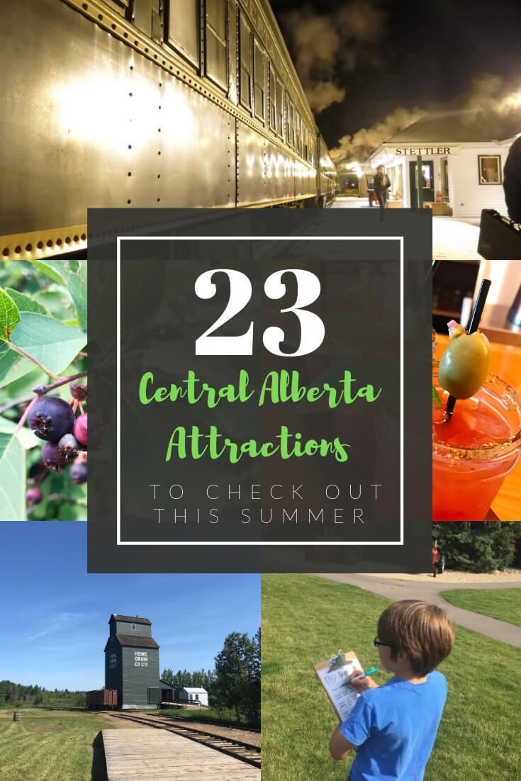 23 Central Alberta Tourist Attractions to Check Out this Summer