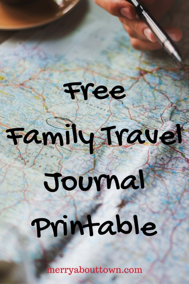 Printable Family Travel Journal