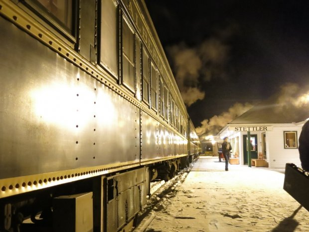 Alberta tourist attractions - Stettler Train
