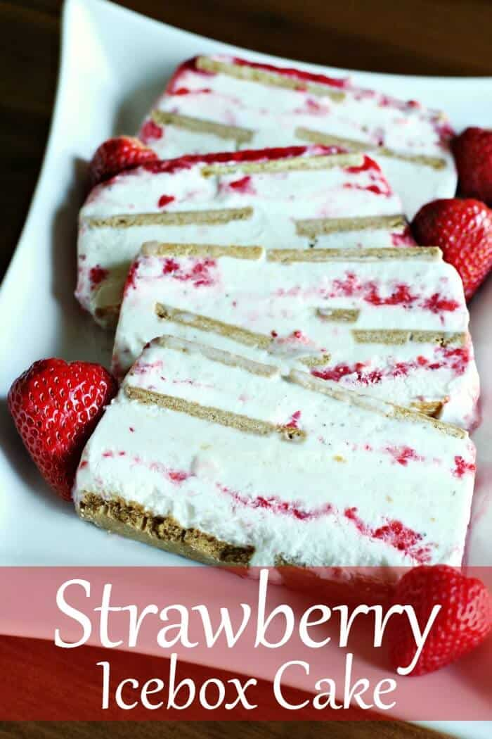 Easy and Delicious Strawberry Icebox Cake