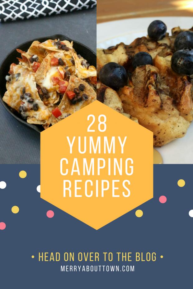 28 Camping Recipes