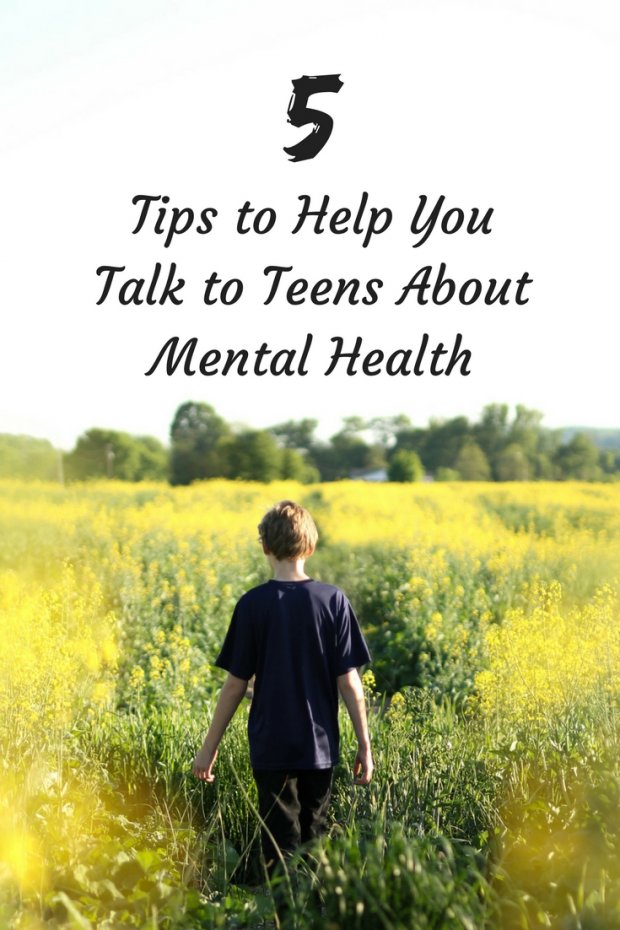 5 Tips to Help You Talk to Teens About Mental Health