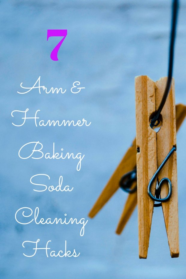 7 Arm & Hammer Baking Soda Cleaning Hacks