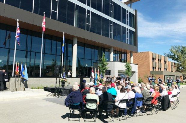 Kensington Royal Canadian Legion Dedication