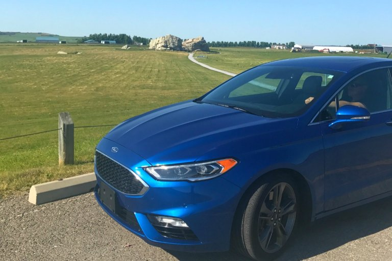 Exploring Okotoks with the Ford Fusion Sport