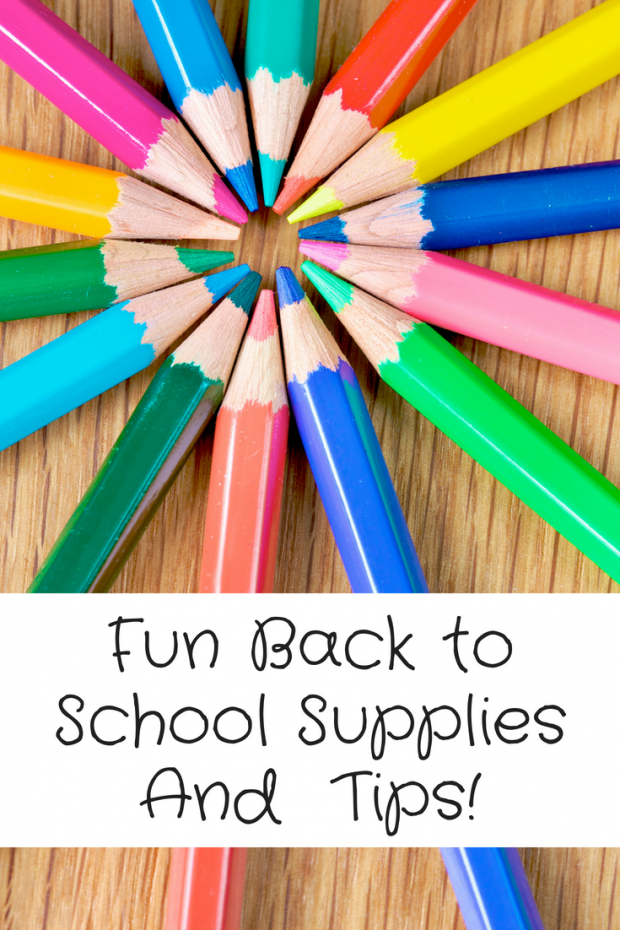 Fun Back to School Supplies And BTS Tips!