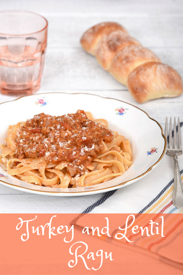 Turkey and Lentil Ragu