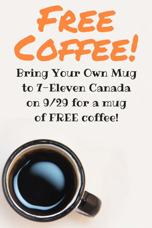 free coffee bring your own mug to 7 eleven on 9 29 merry about town