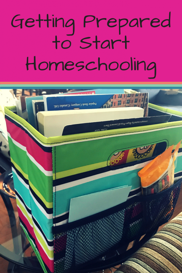 Getting Prepared to Start Homeschooling