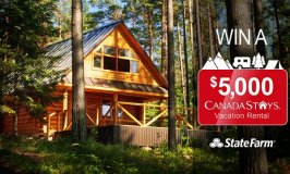 You could win a $5,000 vacation rental – simply get a quote to enter! #GreatCanadianGetaway