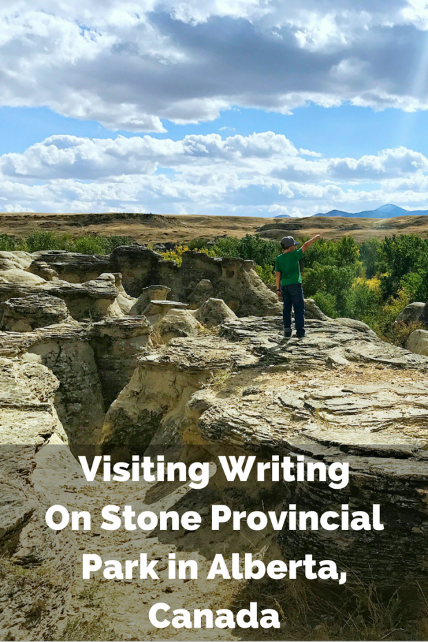 Visiting Writing On Stone ProvincialPark in Alberta, Canada