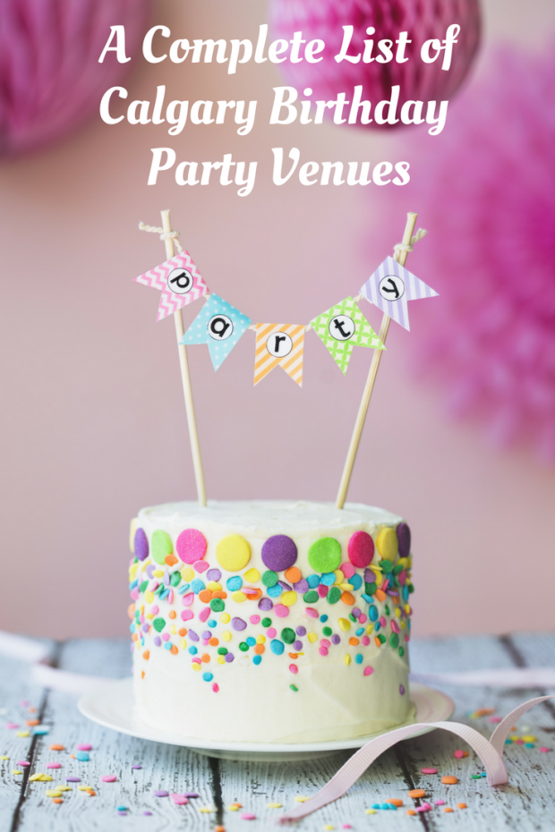 Calgary Birthday Party Venues - Merry About Town