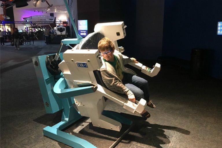 Checking out NASA