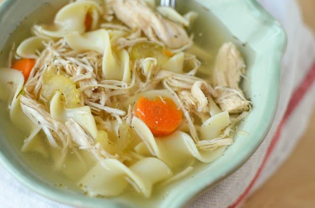 Left Over Turkey Noodle Soup05
