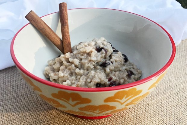 Rice Pudding and Cranberries