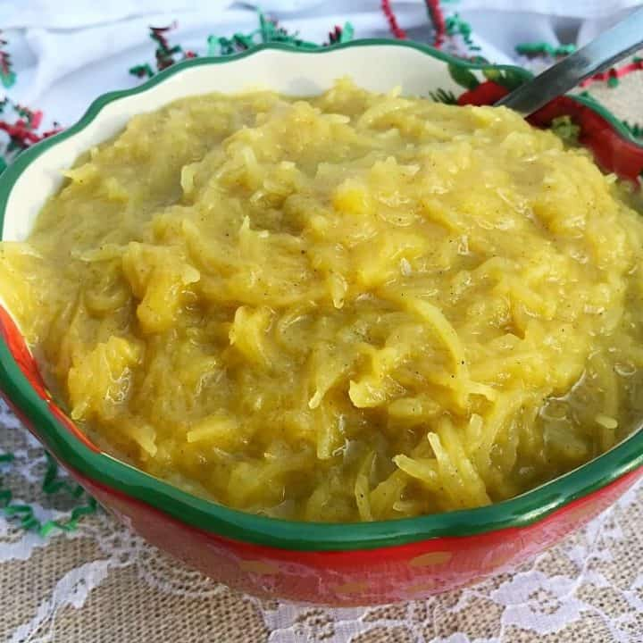 Sweet and Savoury Holiday Spaghetti Squash