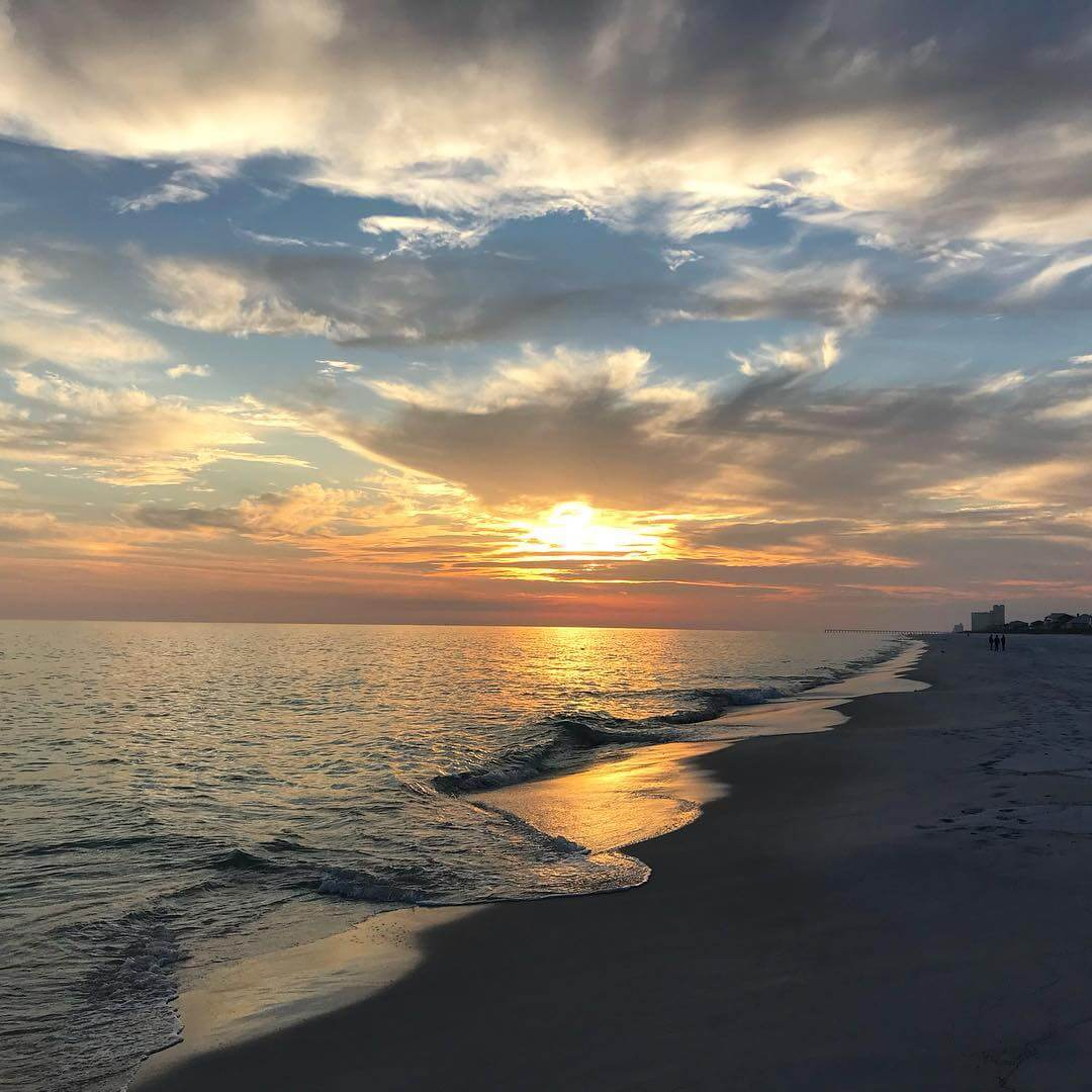 Sunset on Pensacola Beach