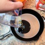 Preheat Oil in Skillet