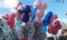 Balloons at Walt Disney World