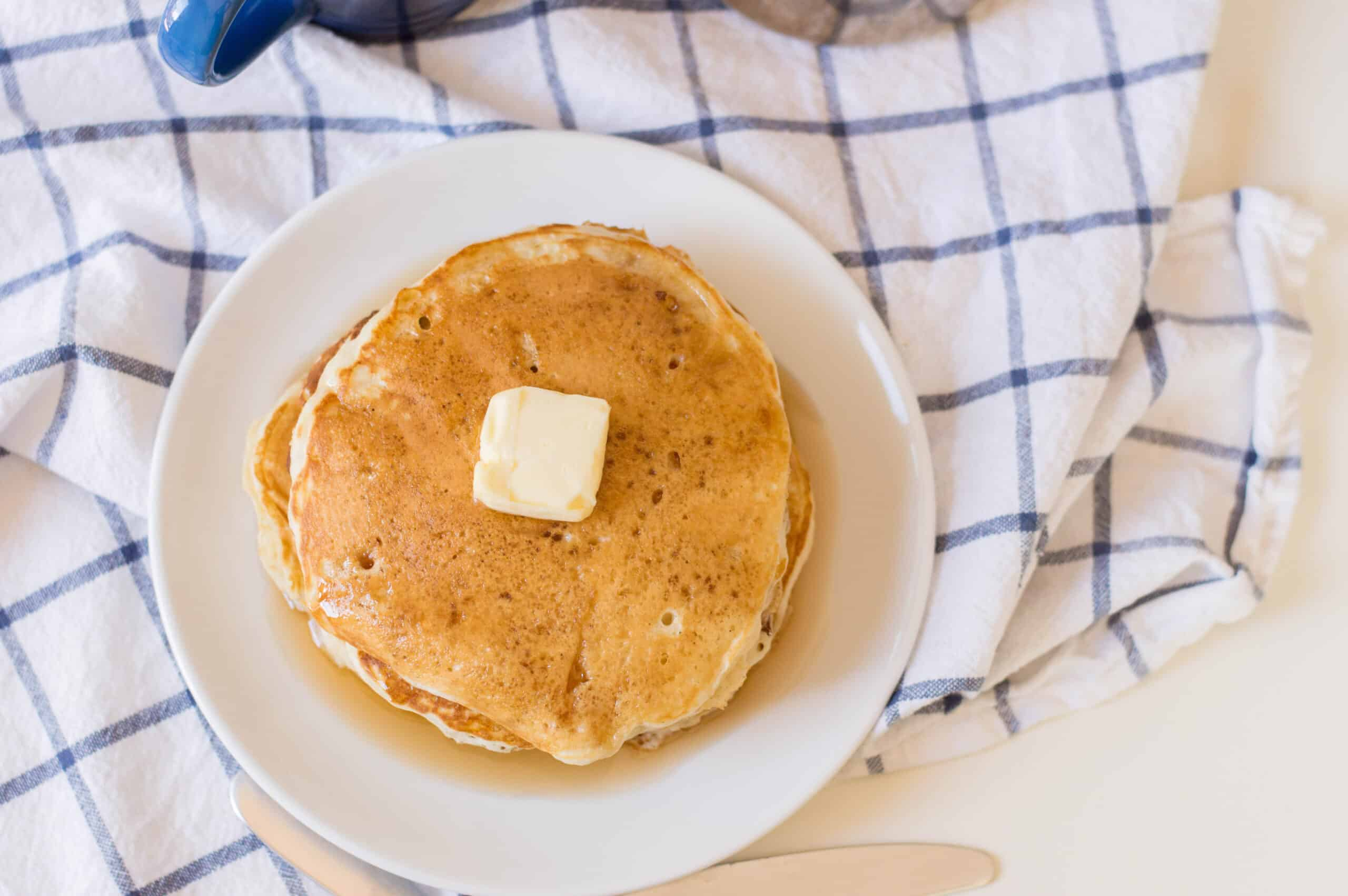 Fluffy Pancakes with butter