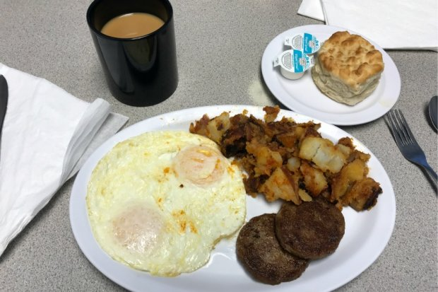 Southern Diner Breakfast at Grannie's in Crystal River, FL