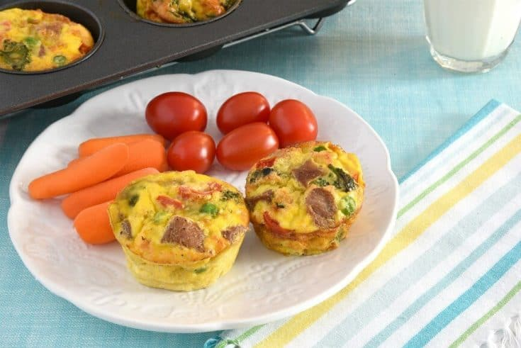 Grab and Go Turkey Muffins - Keeping it Healthy on the Go!