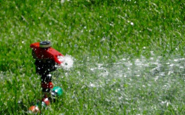Inexpensive Summer Fun at Home - Sprinkler