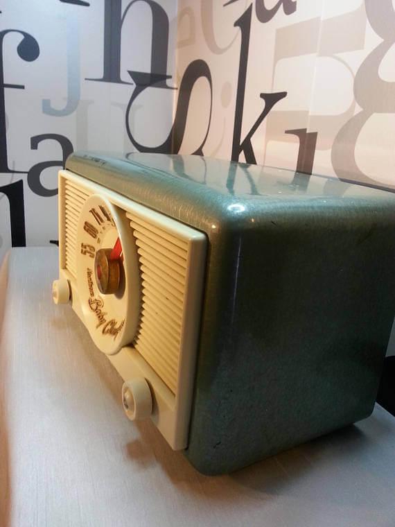 Mid Century Radio - Vintage on Etsy