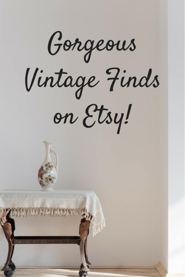 Online Vintage Finds at Etsy!