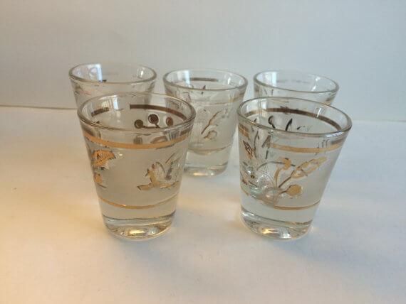 Vintage Shot glasses