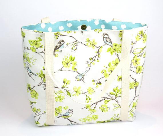 bird summer purse