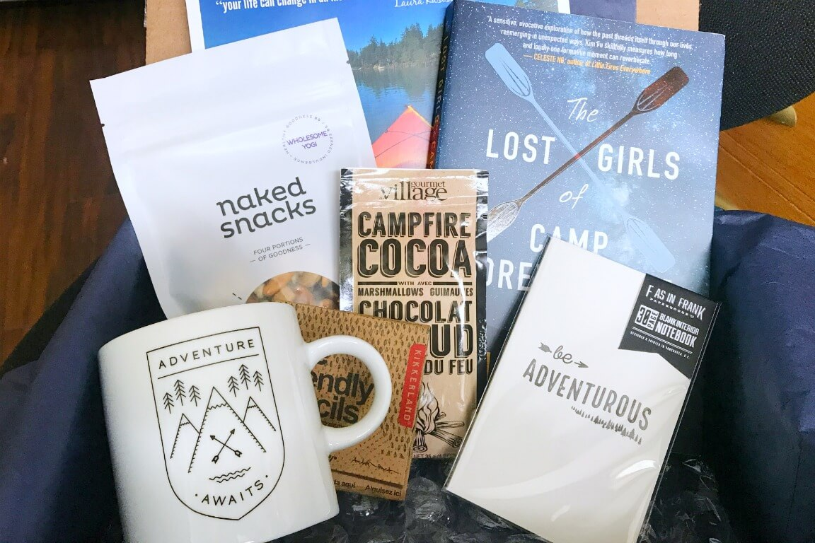 Canadian Subscription Box - Sweet Reads Box