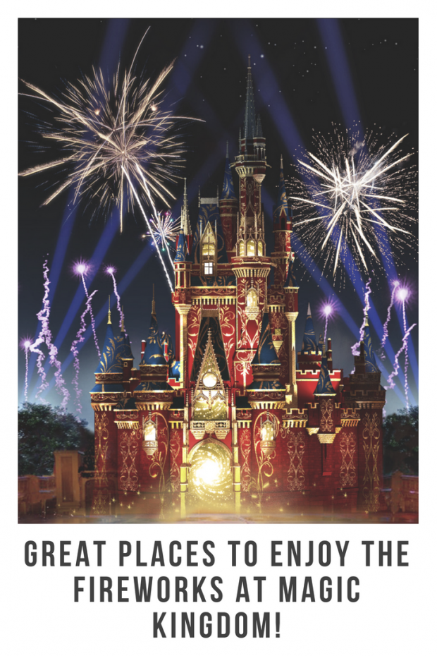 Great Places to Enjoy Disney Fireworks at Magic Kingdom!