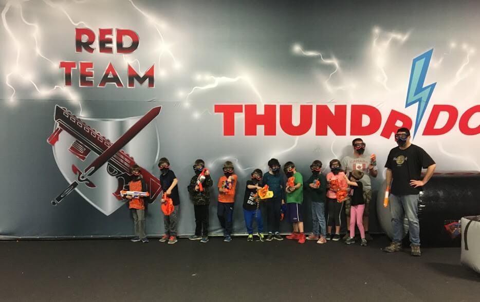 Turf Wars Party at Thundrdome Calgary