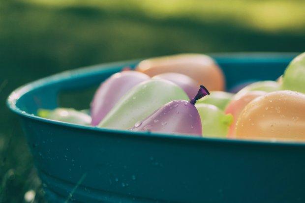summer break - water balloons