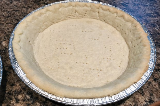 Baked pie shell