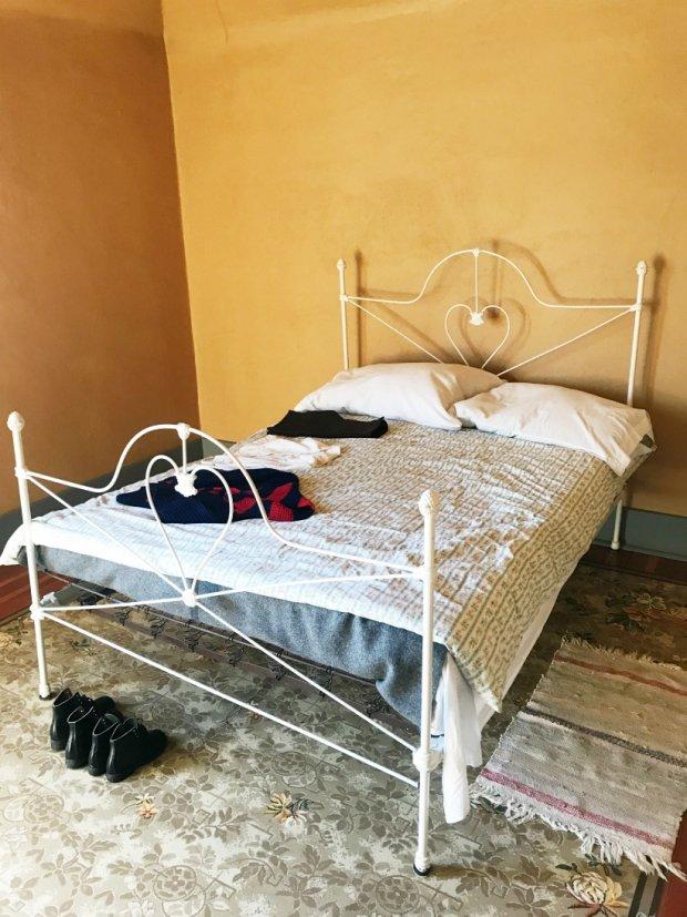 Bedroom at the Ukranian Village