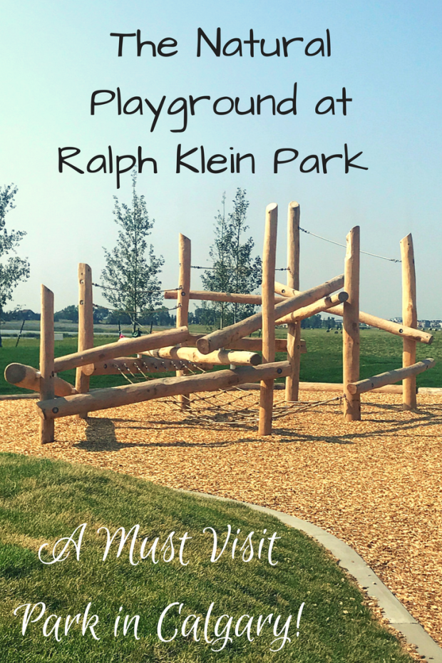 Natural Playground at Ralph Klein Park -