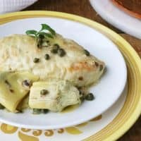 Light and Easy Chicken Piccata