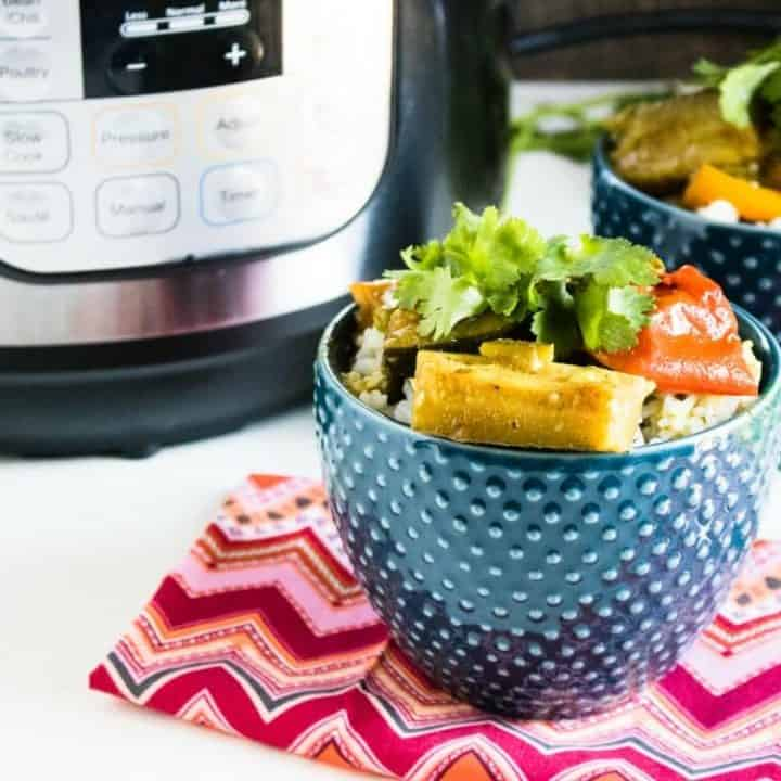Instant Pot Veggie Curry