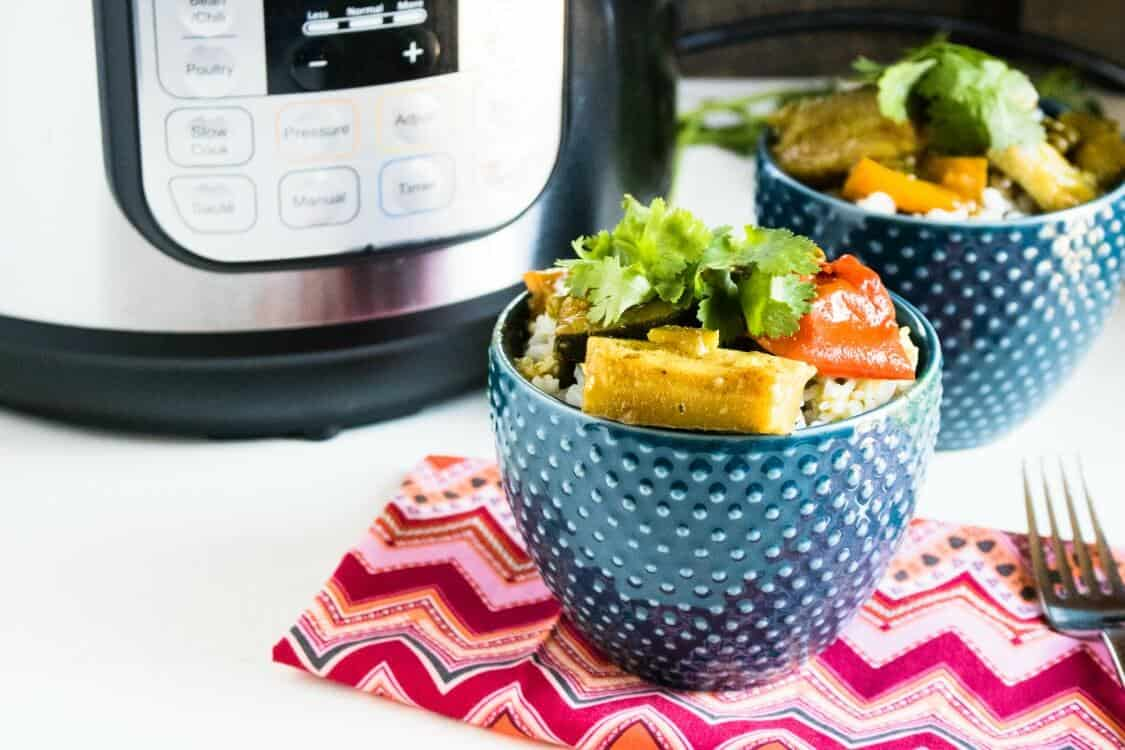 Instant Pot Easy Veggie Curry in a Hurry!
