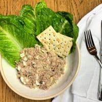 Tuna Salad with Eggs - A Childhood Favorite