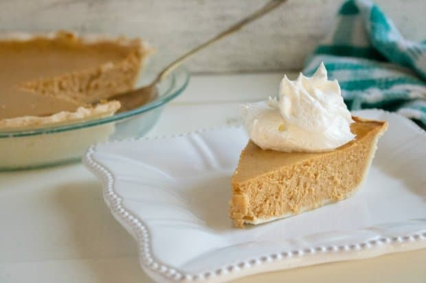 Creamy Pumpkin Pie from Scratch
